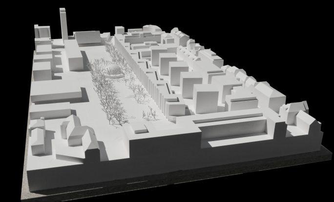 Modell_Esplanade Nord, Biel-Bienne