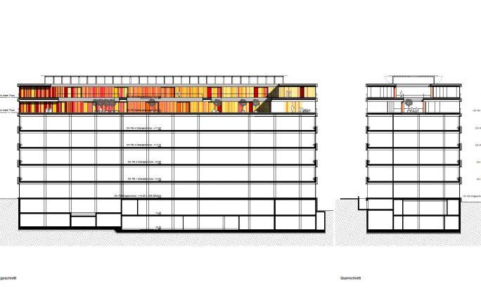 Schnitt | Konzept Hotel