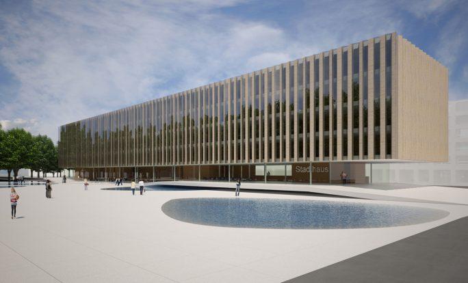 Neubau Verwaltungsgebäude, Biel-Bienne