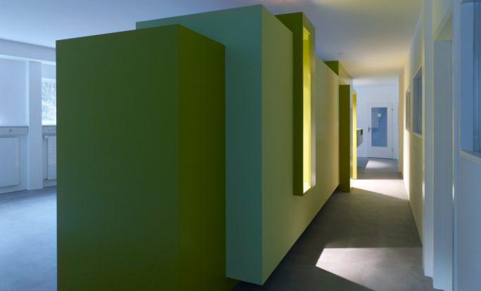 Umbau Bürogebäude MGG